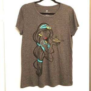 Disney Princess Jasmine Graphic T-Shirt size XL